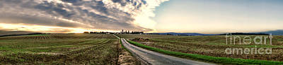 French Countryside Photograph - Vexin Landscape by Olivier Le Queinec