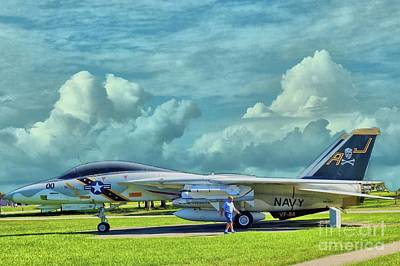 Photograph - Vf-84 At Cecil Field Jacksonville Florida by Janette Boyd