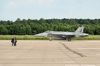 Photograph - Vfa-136 Knighthawks On The Move by Liza Eckardt
