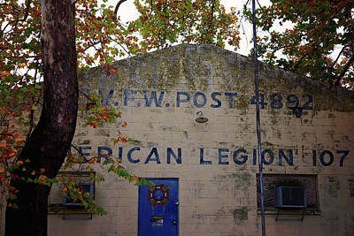 Photograph - Vfw Post 4892 American Legion 107 by Toni Hopper