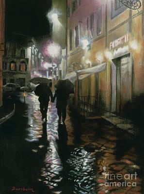 Pastel - Via Della Spada - Firenze, Italia by Kelly Borsheim