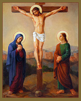Via Dolorosa - Crucifixion - 12 Art Print