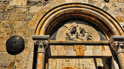 Religious Art Photograph - Via Dolorosa Station Iv by Stephen Stookey
