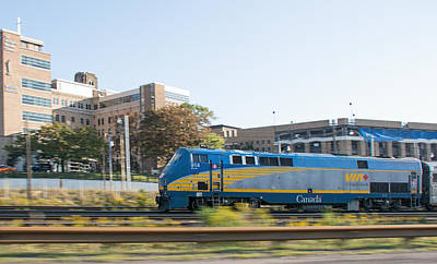 Photograph - Via Rail Toronto Ontario by John Black