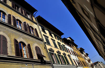 Photograph - Via Ricasoli by Andrew Dinh