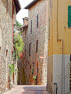 Photograph - Via Rossini Paciano by Dorothy Berry-Lound