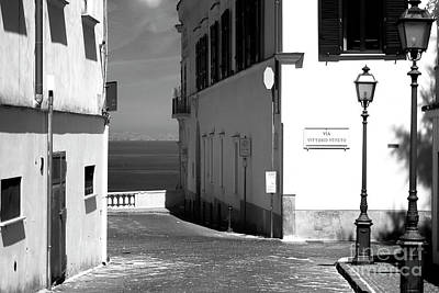 Photograph - Via Vittorio Veneto by John Rizzuto
