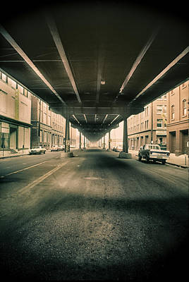 Photograph - Viaduct In Old Denver by John Brink