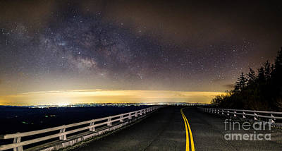Photograph - Viaduct Milky Way by Robert Loe