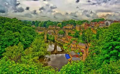 Knaresborough Photograph - Viaduct Over The River Nidd by Mountain Dreams