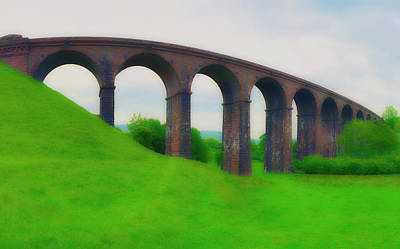Photograph - Viaduct Stonework by Jan W Faul