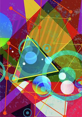 Wayne Rooney Digital Art - Vibrance by Don Kuing