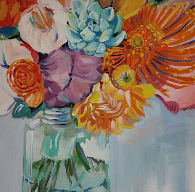 Vibrant  Art Print by Anne Seay