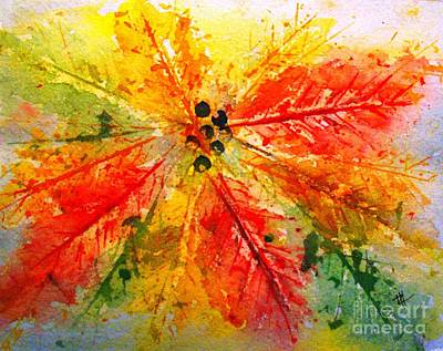 Painting - Vibrant Colors Of Fall by Hazel Holland
