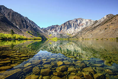 Photograph - Vibrant Convict Lake by Alexander Kunz