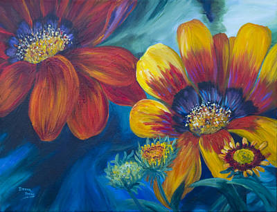 Painting - Vibrant by Donna Drake