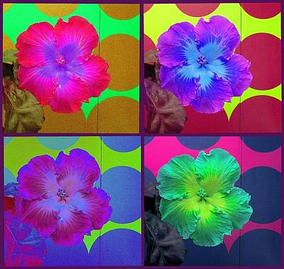 Vibrant Flower Series 2 Art Print by Jen White