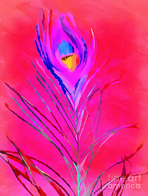Vibrant Life Art Print by Krissy Katsimbras