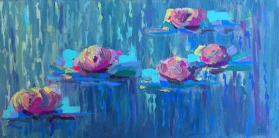 Painting - Vibrant Lilies by Jazmin Angeles