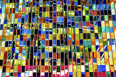Photograph - Vibrant Reflections by Judi Saunders