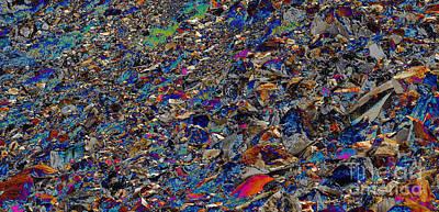 Vibrant Rocks Art Print by Marv Vandehey