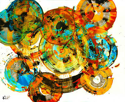 Painting - Vibrant Sphere Series 991.042212vs by Kris Haas