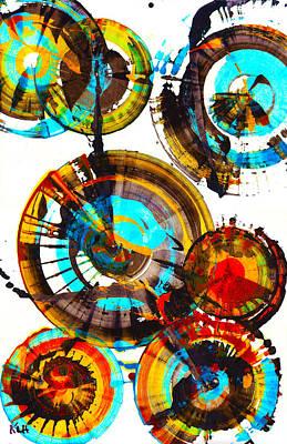 Painting - Vibrant Sphere Series 996.042312vsx2 by Kris Haas