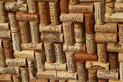 Fine Wine Photograph - Vibrant Wines by Anthony Jones
