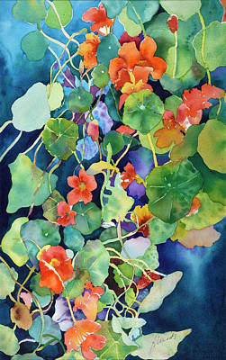 Painting - Vibrant World by Bonny Lundy