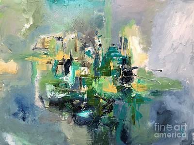 Painting - Vibration by Preethi Mathialagan
