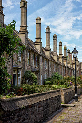 Vicars Close Photograph - Vicars' Close by Christopher Rees