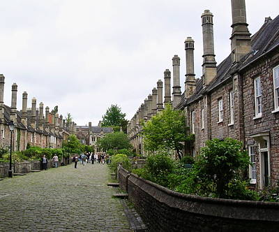 Vicars Close Photograph - Vicars Close In Wells by Paul Williams