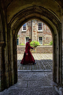 Vicars Close Photograph - Vicars' Close Resident by Christopher Rees