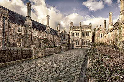 Photograph - Vicars Close  by Stewart Scott