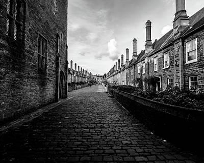 Photograph - Vicars Close Wells A by Jacek Wojnarowski