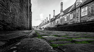Photograph - Vicars Close Wells D by Jacek Wojnarowski