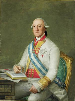Vicente Painting - Vicente Maria De Vera De Aragon Duque  by MotionAge Designs