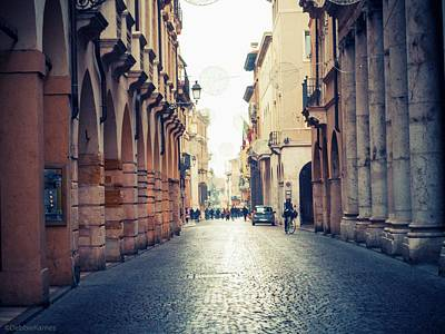 Photograph - Vicenza Italy City Centro by Debbie Karnes