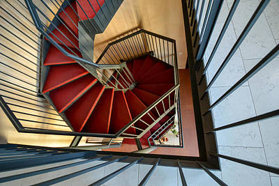 Wall Art - Photograph - Vicenza Spiral by Bill Mock