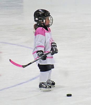 Photograph - Vicious Hockey Player by Ian  MacDonald