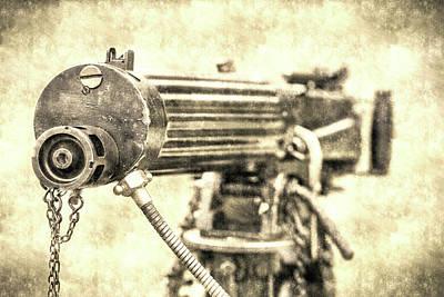 Photograph - Vickers Machine Gun Vintage by David Pyatt