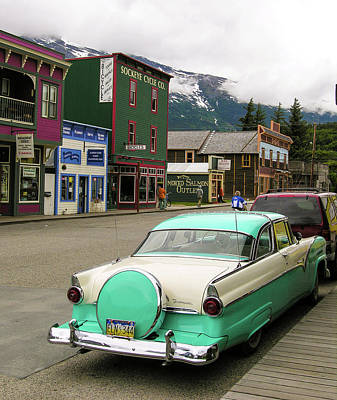 Photograph - Vicky In Skagway by Jim Mathis