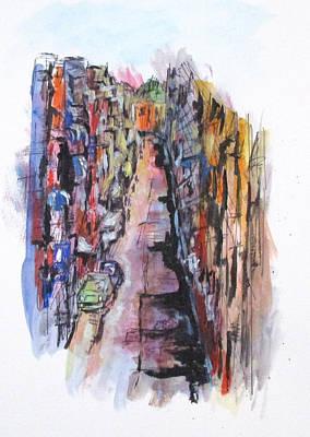 Vicolo De Napoli Art Print
