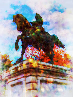 Victor Emmanuel II Art Print