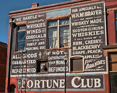 Photograph - Victor Fortune Club by Kristia Adams