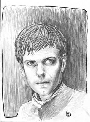 James Parker Drawing - Victor Frankenstein  by James Parker
