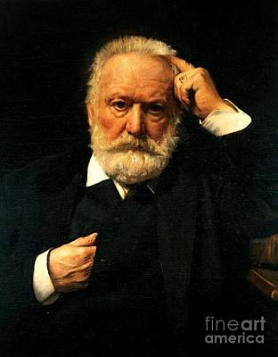 Painting - Victor Hugo  by Reproduction
