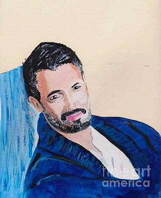 Painting - Victor Webster 2 by Audrey Pollitt