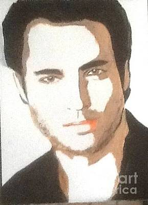 Painting - Victor Webster by Audrey Pollitt