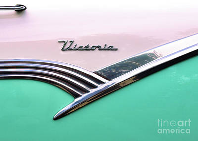 Photograph - Victoria - 1956 Ford by John Waclo